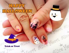 Happy Halloween ネイル♪