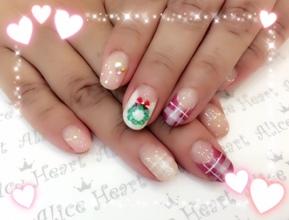Happy クリスマスネイル♪