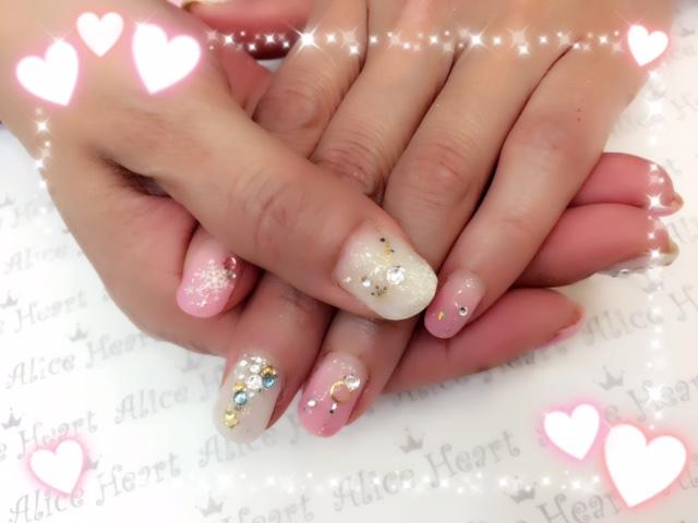 ネイル 冬 デザイン ピンク
